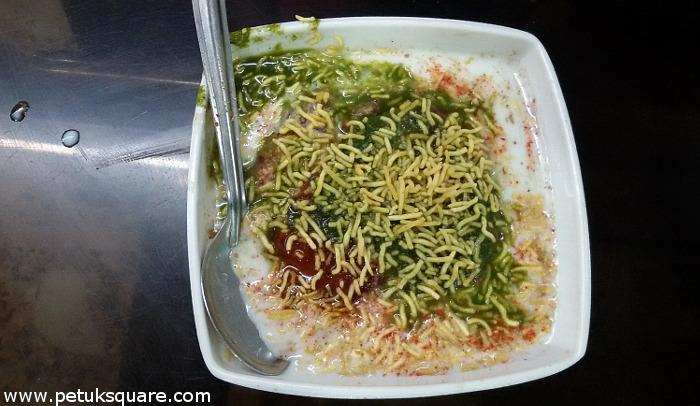 Delhi Tikiya Chat