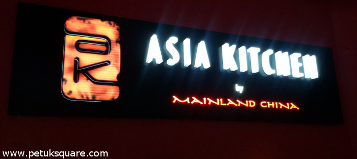 Asia Kitchen, Acropolis Mall