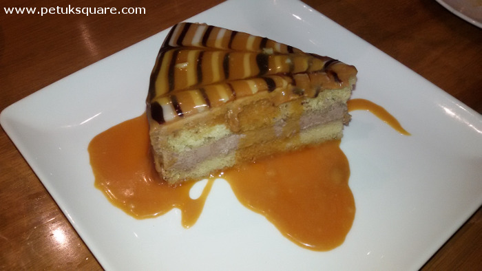 Caramel Sponge Cake with Toffee Sauce