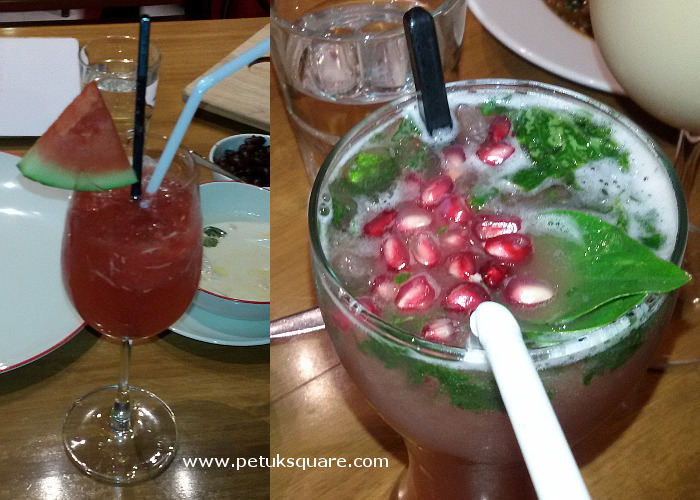The mocktails we liked