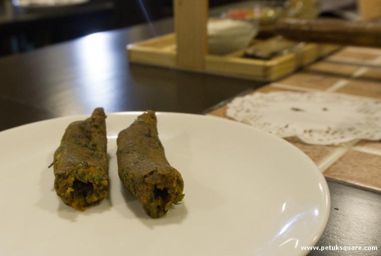 Veg Sheekh Kebab