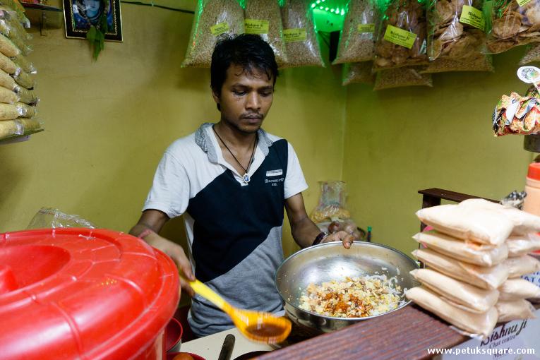 Preparing the Papri Chat