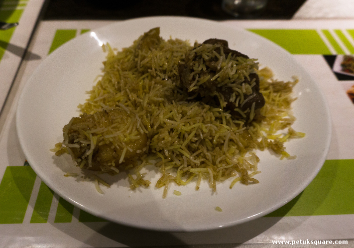 Mutton biryani at Dada Boudi restaurant barrackpore