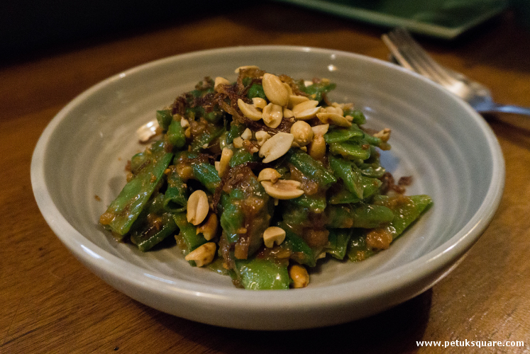 Snow Peas and Green Bean Salad