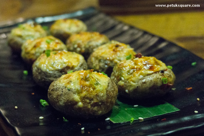 Asian Stuffed Mushroom