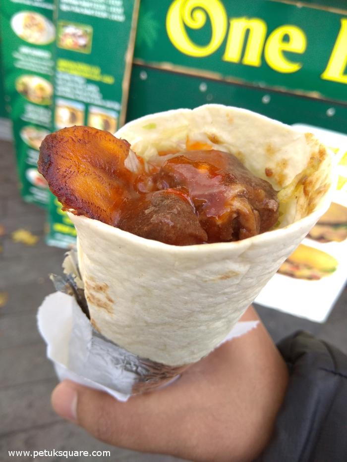 Beef Jerk Burrito
